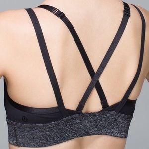 lululemon athletica Intimates & Sleepwear - RARE! Lululemon If You're Lucky Strappy Sports Bra